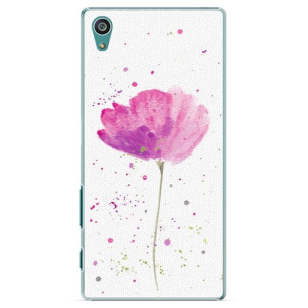 Plastové puzdro iSaprio - Poppies - Sony Xperia Z5