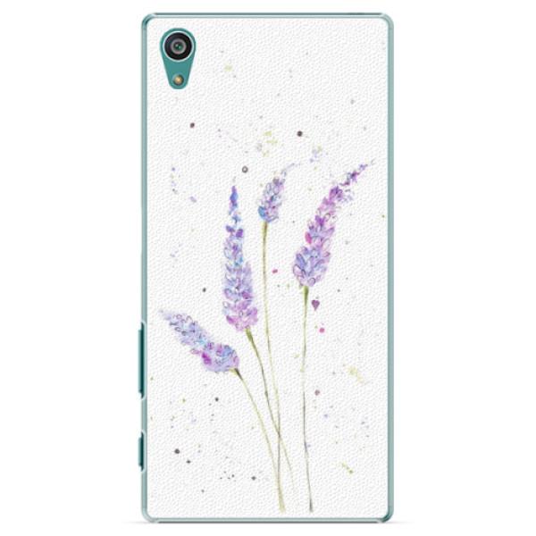 Plastové puzdro iSaprio - Lavender - Sony Xperia Z5