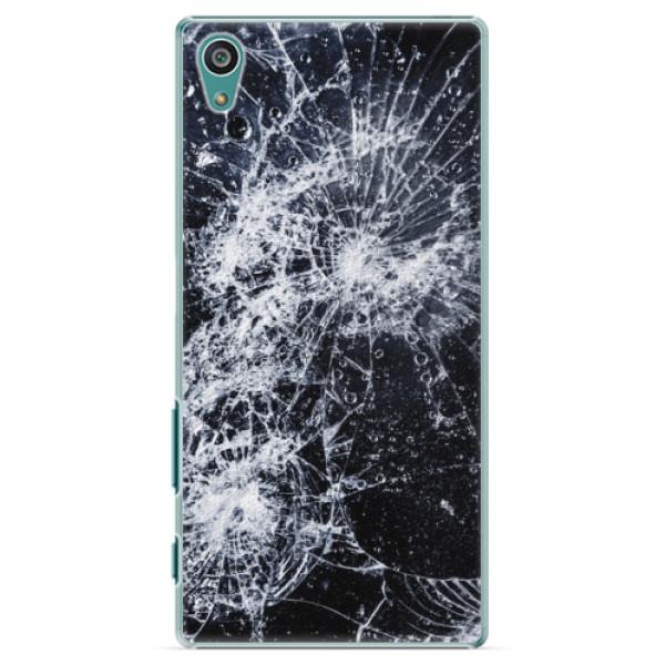 Plastové puzdro iSaprio - Cracked - Sony Xperia Z5