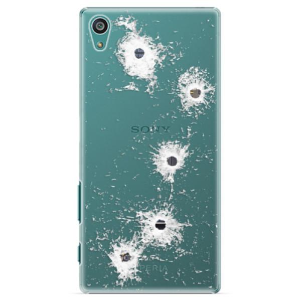 Plastové puzdro iSaprio - Gunshots - Sony Xperia Z5