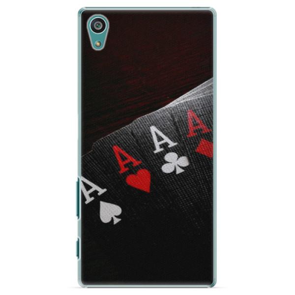 Plastové puzdro iSaprio - Poker - Sony Xperia Z5