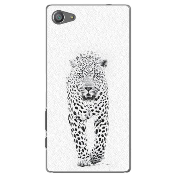 Plastové puzdro iSaprio - White Jaguar - Sony Xperia Z5 Compact