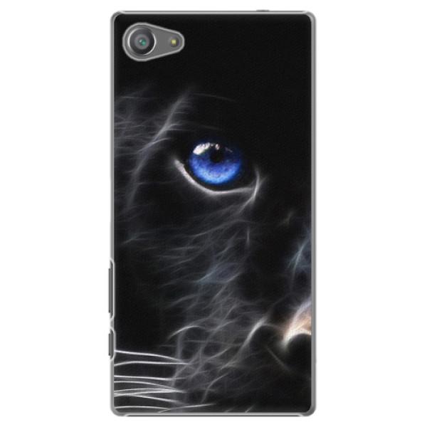 Plastové puzdro iSaprio - Black Puma - Sony Xperia Z5 Compact