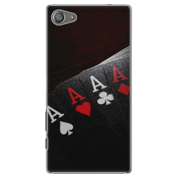 Plastové puzdro iSaprio - Poker - Sony Xperia Z5 Compact