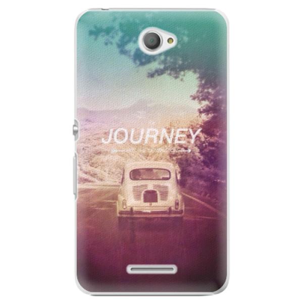 Plastové puzdro iSaprio - Journey - Sony Xperia E4