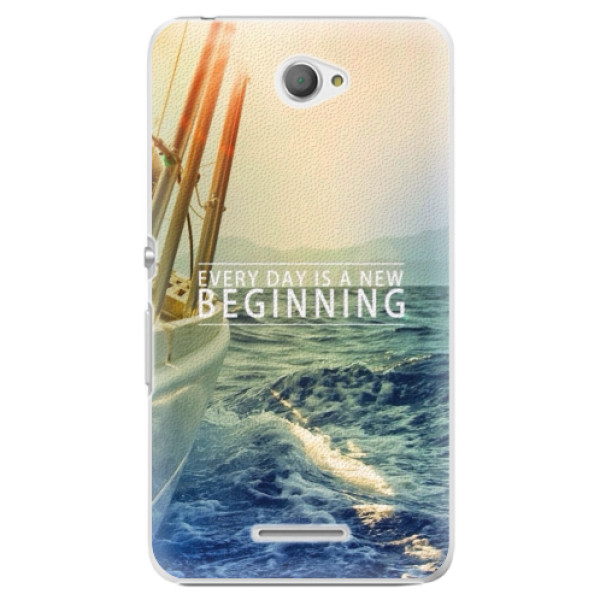 Plastové puzdro iSaprio - Beginning - Sony Xperia E4