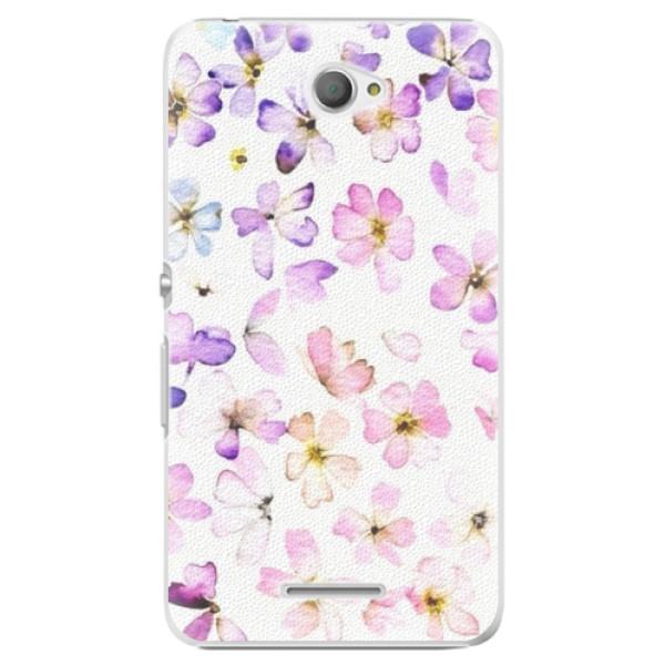 Plastové puzdro iSaprio - Wildflowers - Sony Xperia E4