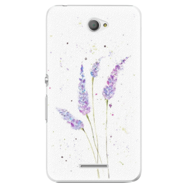 Plastové puzdro iSaprio - Lavender - Sony Xperia E4