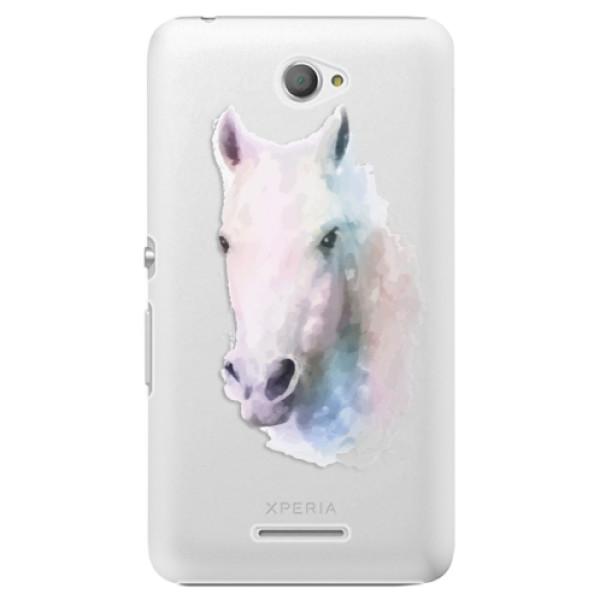 Plastové puzdro iSaprio - Horse 01 - Sony Xperia E4