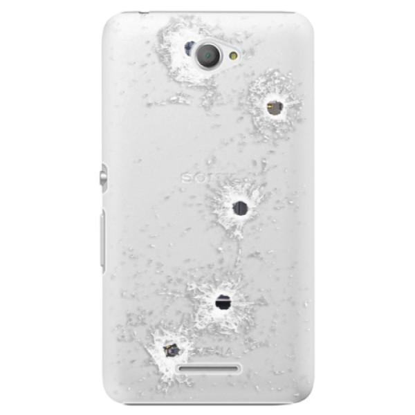 Plastové puzdro iSaprio - Gunshots - Sony Xperia E4