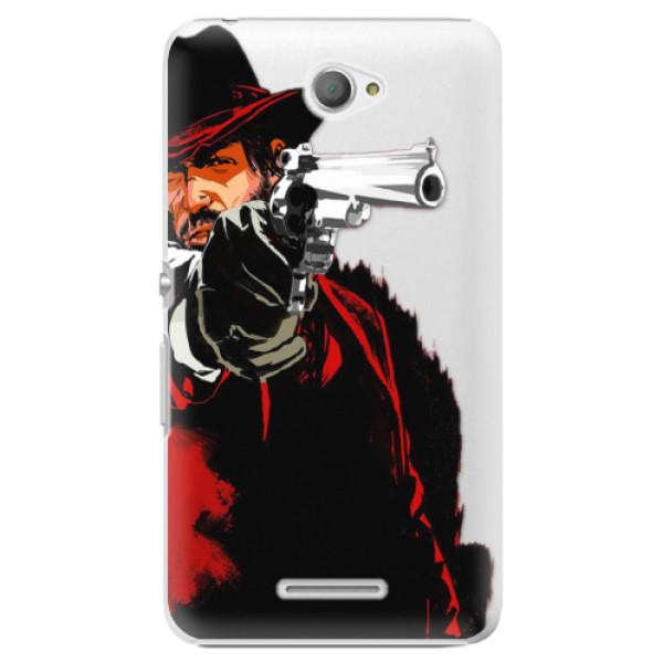 Plastové puzdro iSaprio - Red Sheriff - Sony Xperia E4