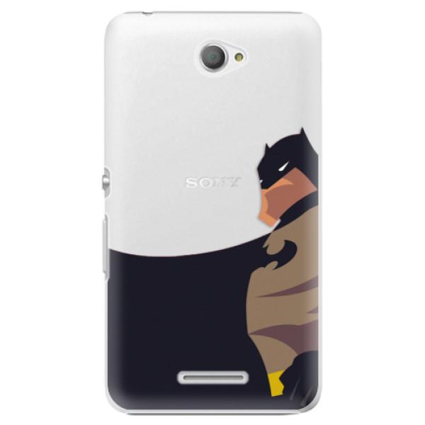 Plastové puzdro iSaprio - BaT Comics - Sony Xperia E4