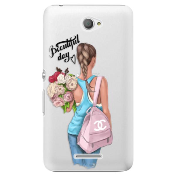 Plastové puzdro iSaprio - Beautiful Day - Sony Xperia E4