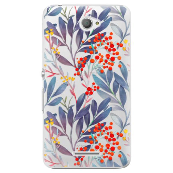 Plastové puzdro iSaprio - Rowanberry - Sony Xperia E4