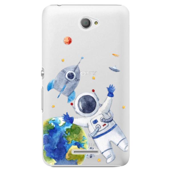 Plastové puzdro iSaprio - Space 05 - Sony Xperia E4