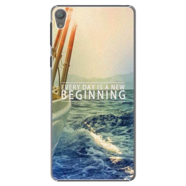 Plastové puzdro iSaprio - Beginning - Sony Xperia E5