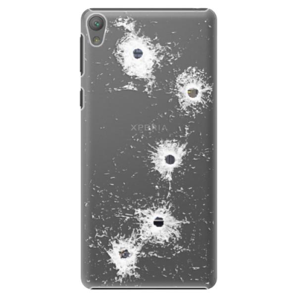 Plastové puzdro iSaprio - Gunshots - Sony Xperia E5