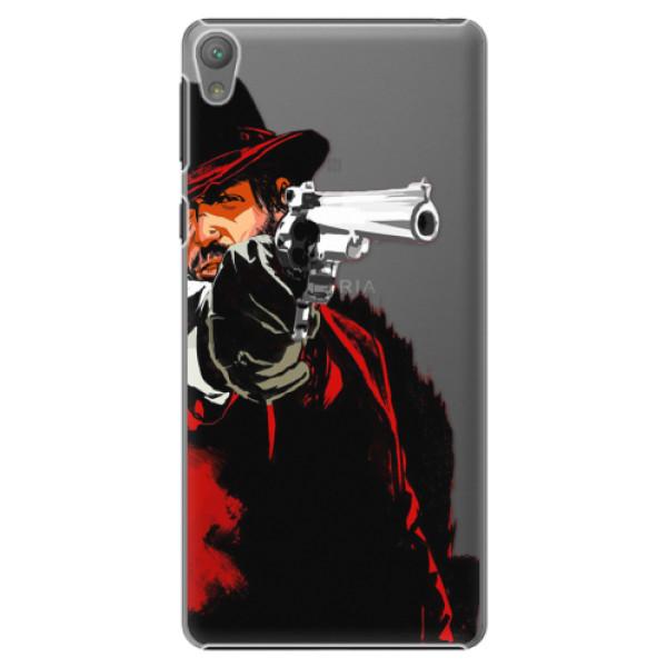 Plastové puzdro iSaprio - Red Sheriff - Sony Xperia E5