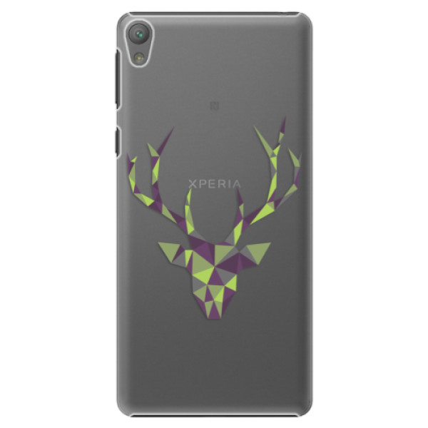 Plastové puzdro iSaprio - Deer Green - Sony Xperia E5