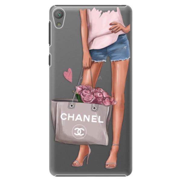 Plastové puzdro iSaprio - Fashion Bag - Sony Xperia E5