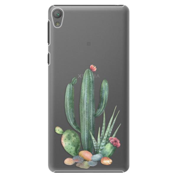 Plastové puzdro iSaprio - Cacti 02 - Sony Xperia E5