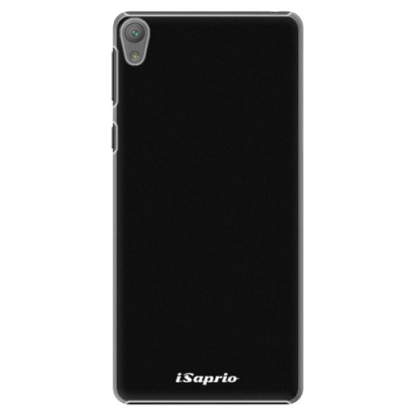 Plastové puzdro iSaprio - 4Pure - černý - Sony Xperia E5