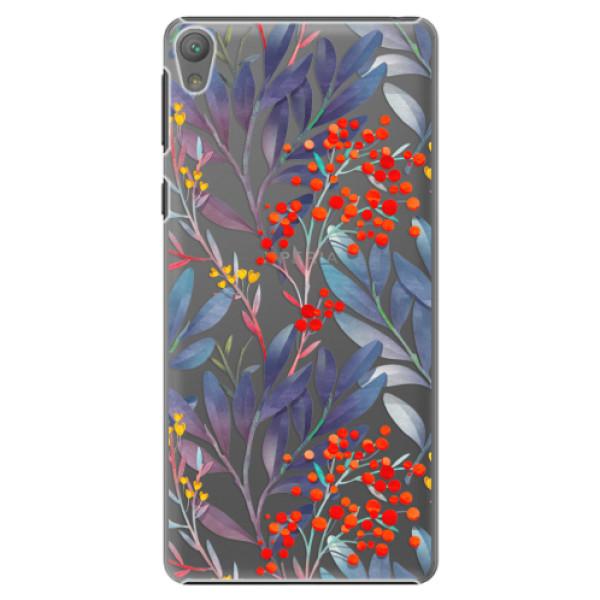 Plastové puzdro iSaprio - Rowanberry - Sony Xperia E5