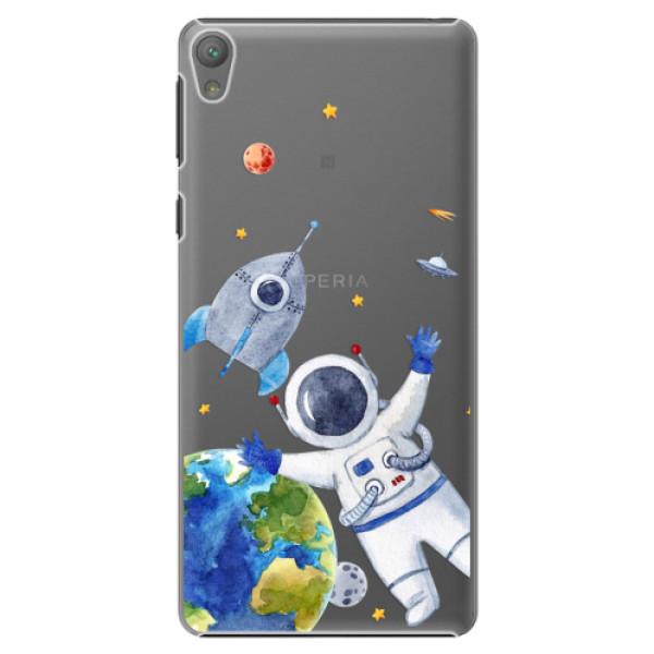 Plastové puzdro iSaprio - Space 05 - Sony Xperia E5