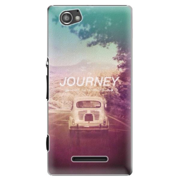 Plastové puzdro iSaprio - Journey - Sony Xperia M