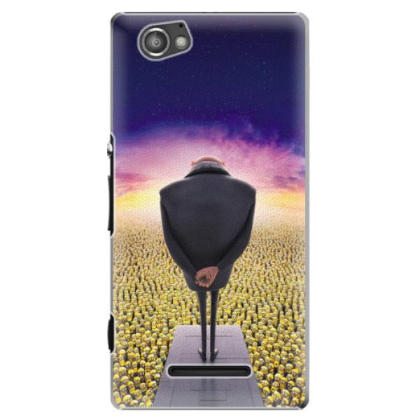 Plastové puzdro iSaprio - Gru - Sony Xperia M