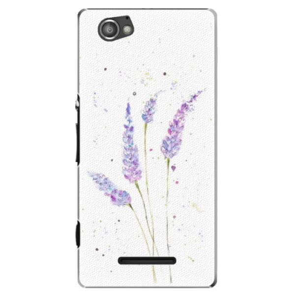 Plastové puzdro iSaprio - Lavender - Sony Xperia M