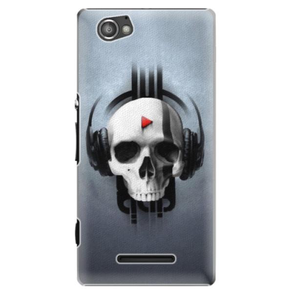 Plastové puzdro iSaprio - Skeleton M - Sony Xperia M