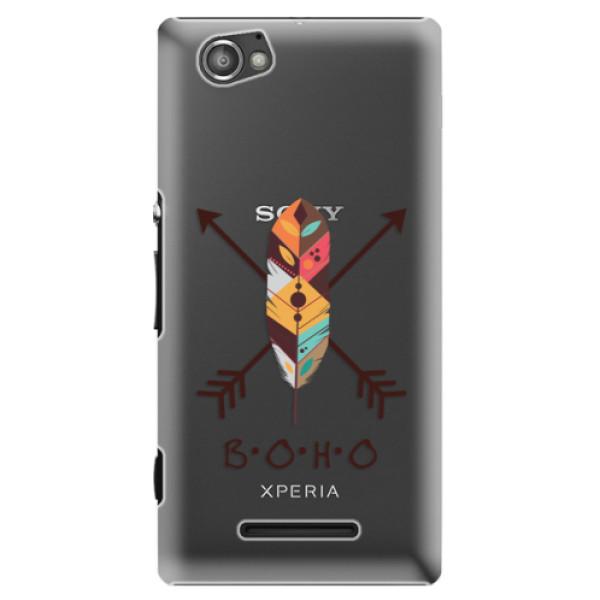 Plastové puzdro iSaprio - BOHO - Sony Xperia M