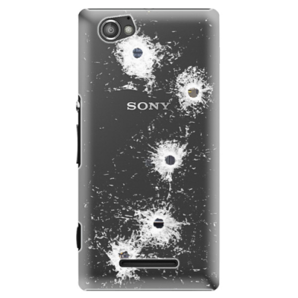 Plastové puzdro iSaprio - Gunshots - Sony Xperia M