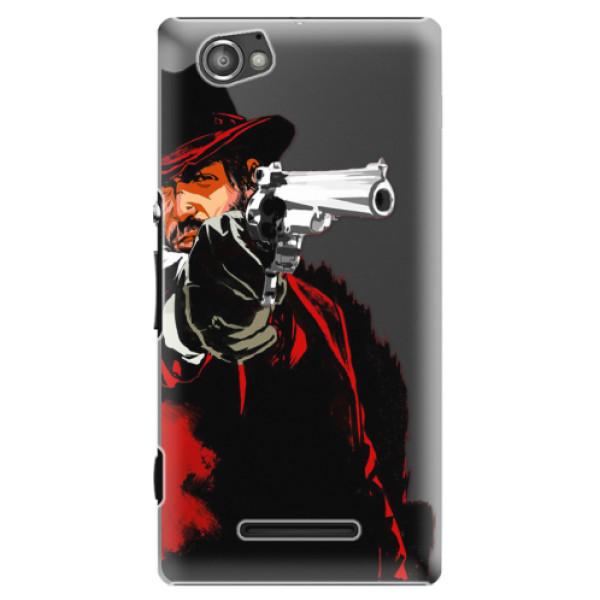 Plastové puzdro iSaprio - Red Sheriff - Sony Xperia M