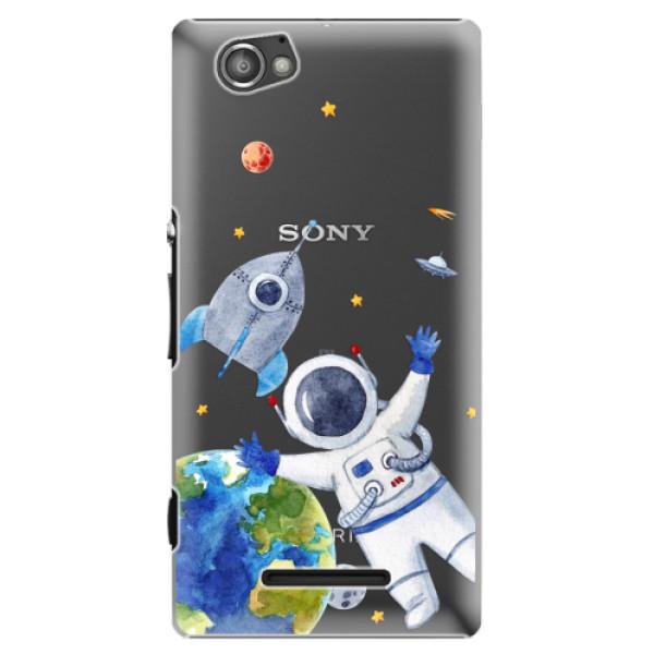 Plastové puzdro iSaprio - Space 05 - Sony Xperia M