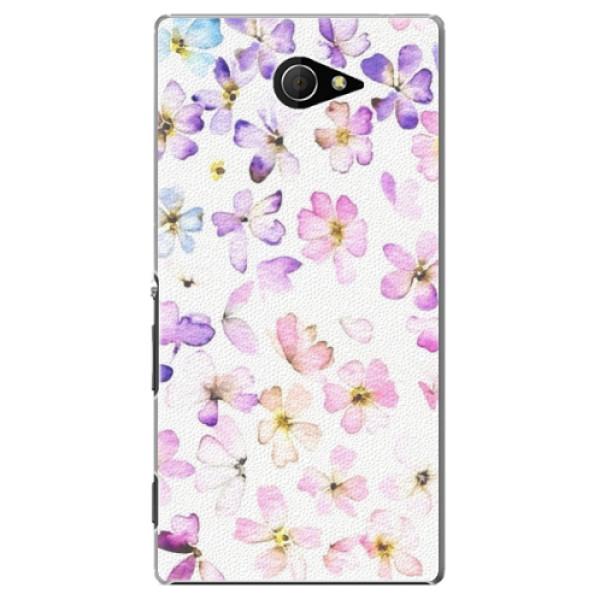 Plastové puzdro iSaprio - Wildflowers - Sony Xperia M2