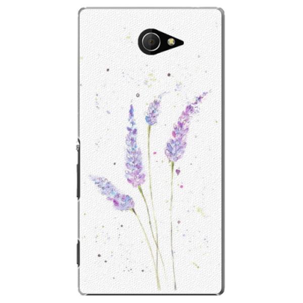 Plastové puzdro iSaprio - Lavender - Sony Xperia M2