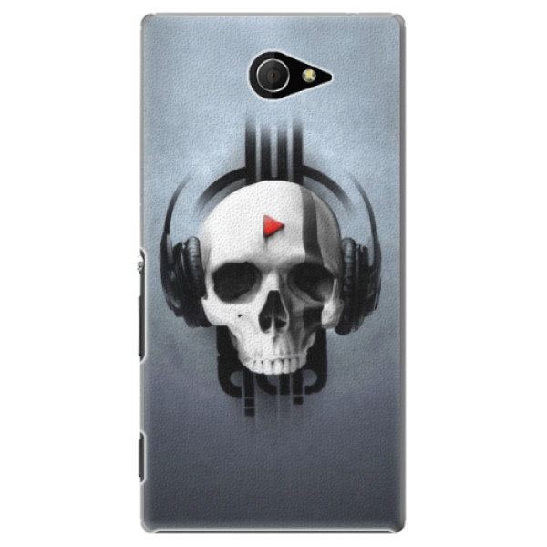 Plastové puzdro iSaprio - Skeleton M - Sony Xperia M2