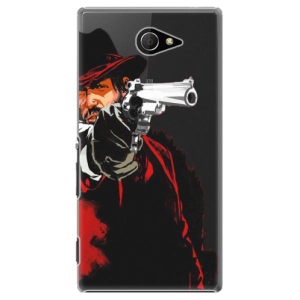 Plastové puzdro iSaprio - Red Sheriff - Sony Xperia M2