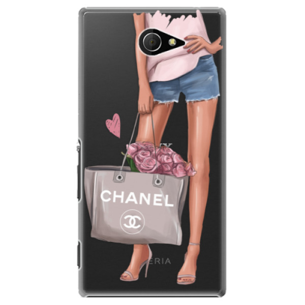 Plastové puzdro iSaprio - Fashion Bag - Sony Xperia M2