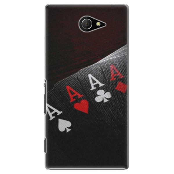 Plastové puzdro iSaprio - Poker - Sony Xperia M2