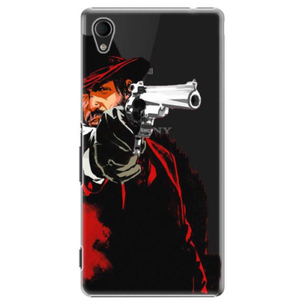 Plastové puzdro iSaprio - Red Sheriff - Sony Xperia M4