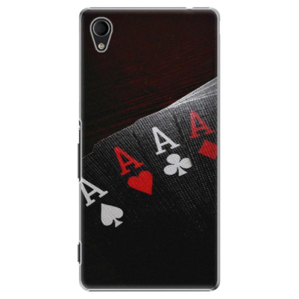 Plastové puzdro iSaprio - Poker - Sony Xperia M4