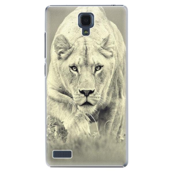 Plastové puzdro iSaprio - Lioness 01 - Xiaomi Redmi Note