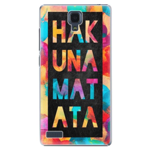Plastové puzdro iSaprio - Hakuna Matata 01 - Xiaomi Redmi Note