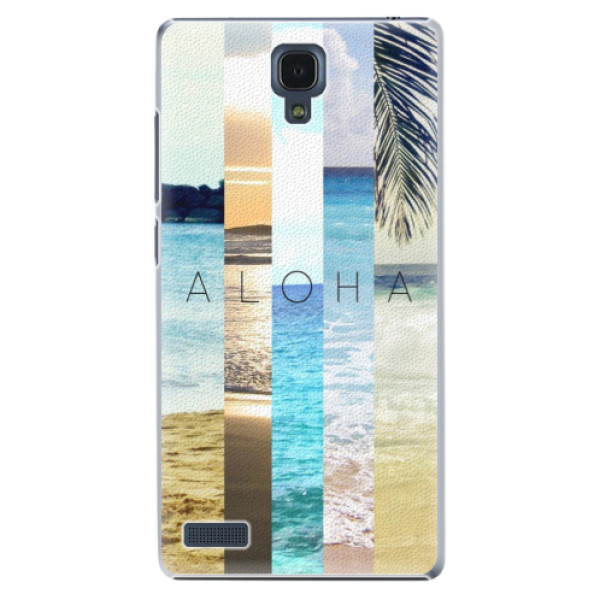 Plastové puzdro iSaprio - Aloha 02 - Xiaomi Redmi Note