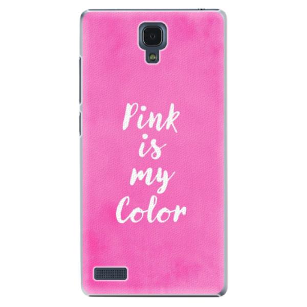 Plastové puzdro iSaprio - Pink is my color - Xiaomi Redmi Note