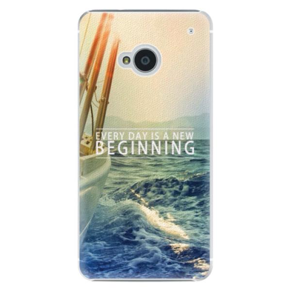 Plastové puzdro iSaprio - Beginning - HTC One M7