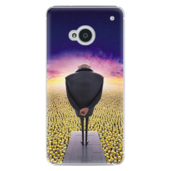 Plastové puzdro iSaprio - Gru - HTC One M7